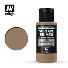 Surface Primer 604-60ml German Dark Yellow
