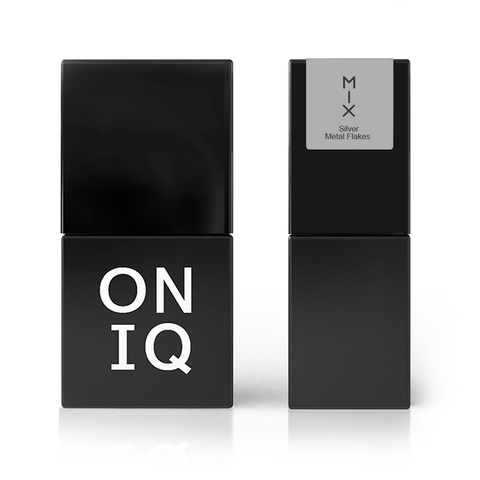 ONIQ Гель-лак 106, MIX: Silver Metal Flakes, 10 ml