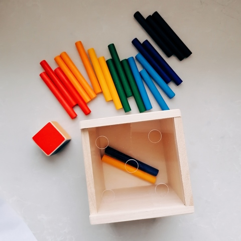 Игра Радужные палочки