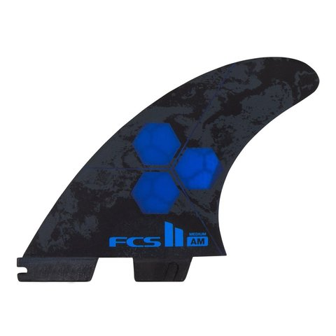 FCS II AM PC Tri-Quad Retail Fins Cobalt