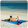 Картинка пляжное покрывало Ticket to the Moon Beach Blanket Purple/Light Blue - 4