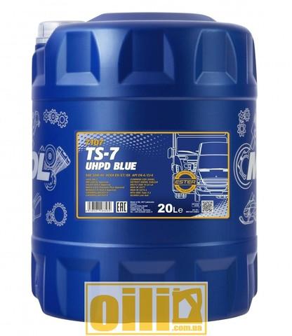 Mannol 7107 TS-7 UHPD Blue 10W-40 20л