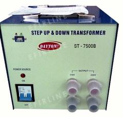Конвертер Dayton ST-7500W 110V<>220V
