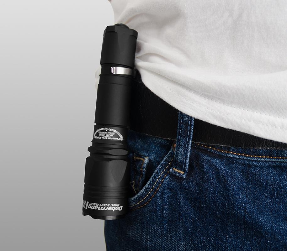 Тактический фонарь Armytek Dobermann Pro - фото 6