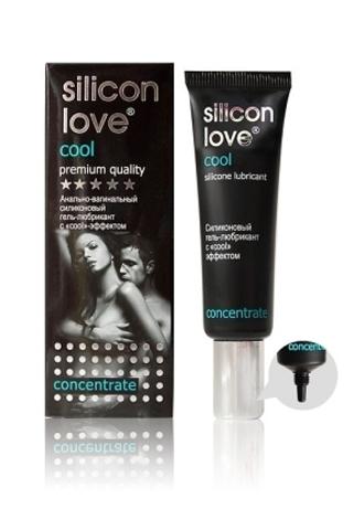 Освежающий гель-лубрикант на силиконовой основе Silicon Love cool- 30 гр.