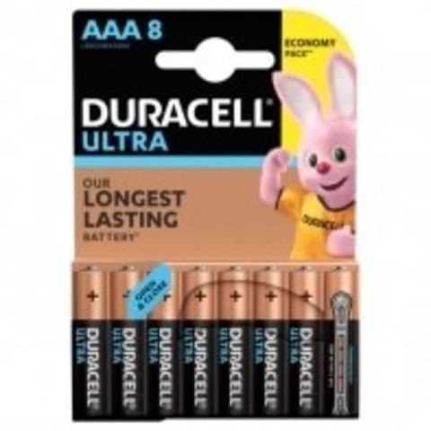 Элемент питания Duracell LR03-8BL Ultra Power