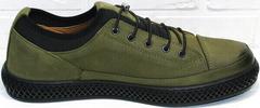 Мужские повседневные туфли кроссовки для долгих прогулок Luciano Bellini C2801 Nb Khaki.