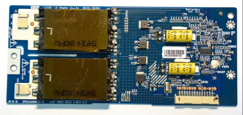 Инвертор LC320 6632L-0636A телевизора LG 3PEGA20003A-R PNEC-D031
