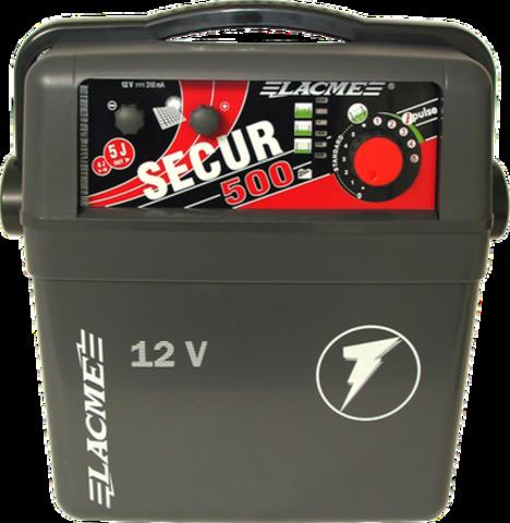 Генератор электропастуха SECUR 500 от аккумуляторной батареи - 250 км - 5-5,0 Дж