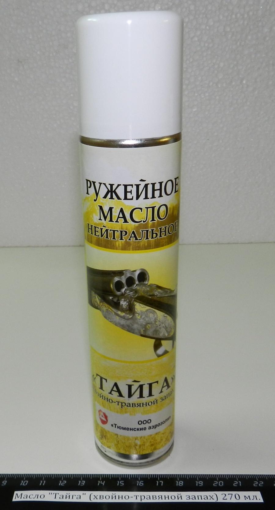 """Масло """"Тайга"""" (хвойно-травяной запах) 270 мл."""