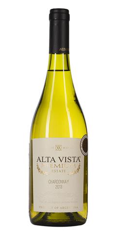 Вино Альта Виста Шардонне Премиум защ. геогр. указ. бел. сух. 0,75 л 13,5% Аргентина