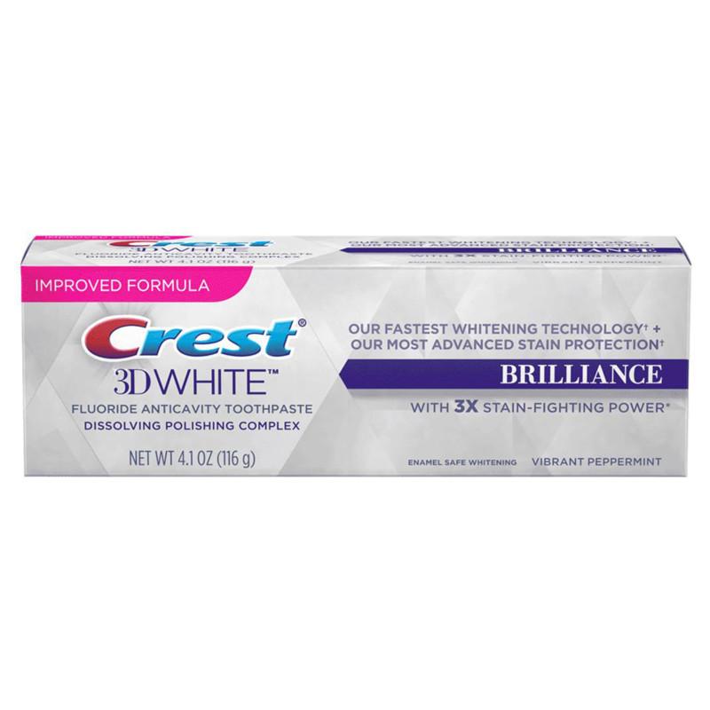 Отбеливающая зубная паста Crest 3D White Brilliance 116гр