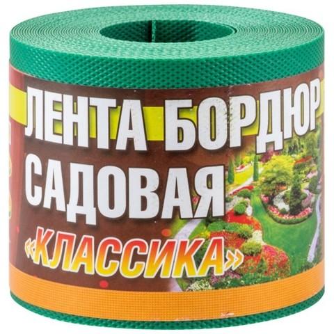Лента бордюрная Классика ЭКО36ПС 10смх9м зелен текстурир