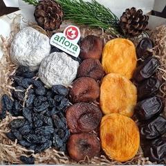 Набор сухофруктов с шоколадной курагой , 350 г