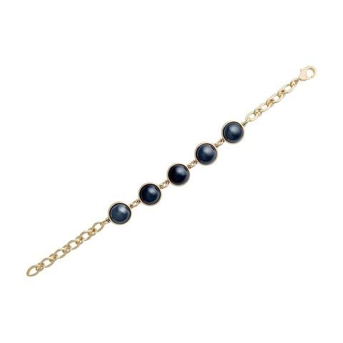 Классический браслет Pearl Blue Aventurine C1362.23 BL/G