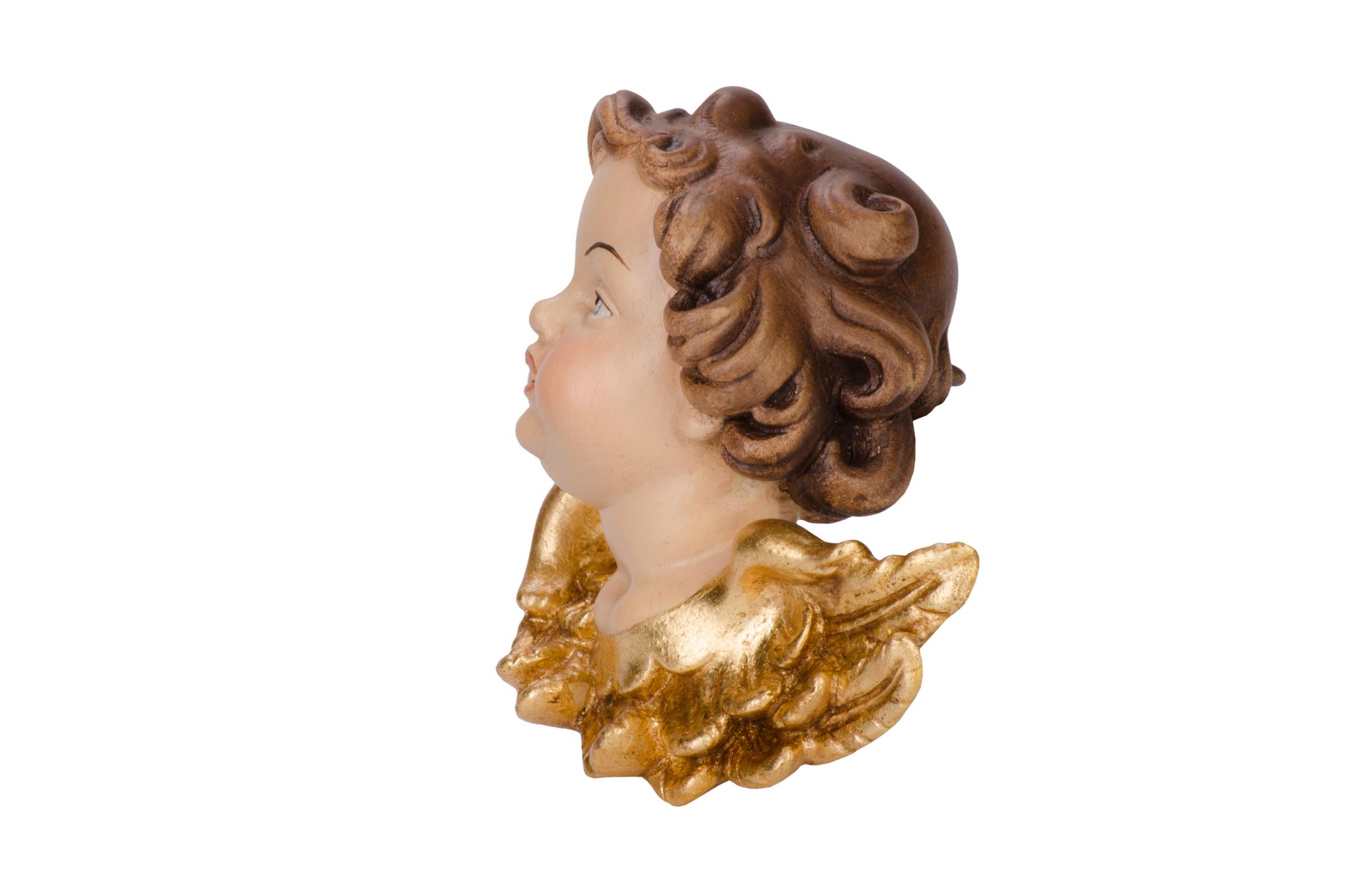 Голова ангела Моцарта - лево