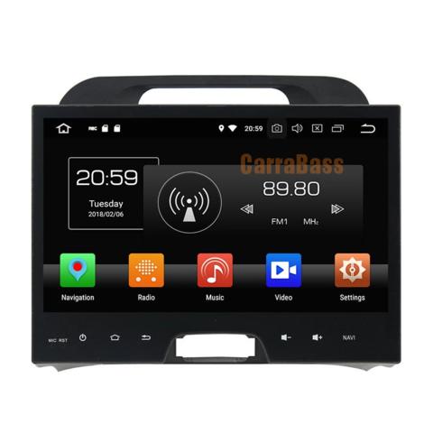 Магнитола Kia Sportage 2010-2015 Android 10 4/64GB  IPS DSP модель KD-1075-PX5