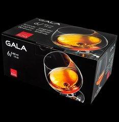 Набор бокалов для бренди и коньяка Белое кружево, 6 шт., 400 мл, стекло, Rona, фото 4