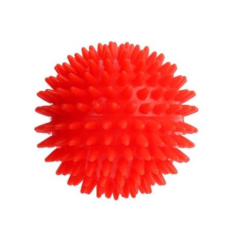 Массажный шарик Ежик ,9 см, пластик