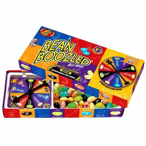 Jelly Belly Bean Boozled Game Игра Джелли Белли Бин Бузлд 5 серия 100 гр