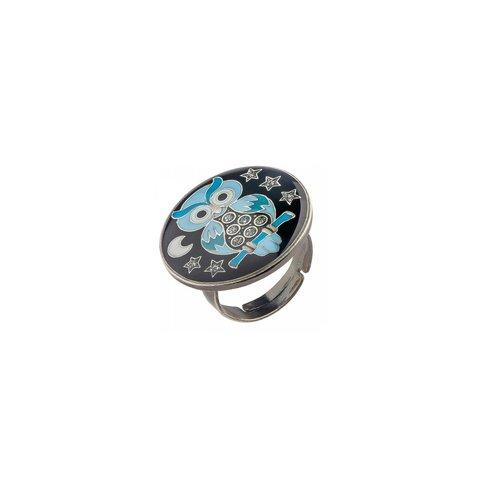 Кольцо Сова K27958-8 BR
