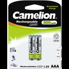 Аккумуляторы Camelion R 03/2bl 300mAh Ni-MH