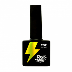 Топ без липкого слоя RockNail No Wipe Top, 10мл.