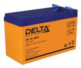 Аккумулятор Delta HR 12-28 W ( 12V 7Ah / 12В 7Ач ) - фотография