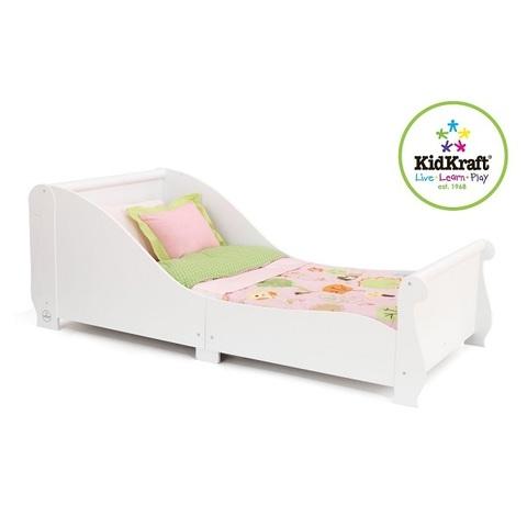 """Детская кровать """"Sleigh"""" , белая"""