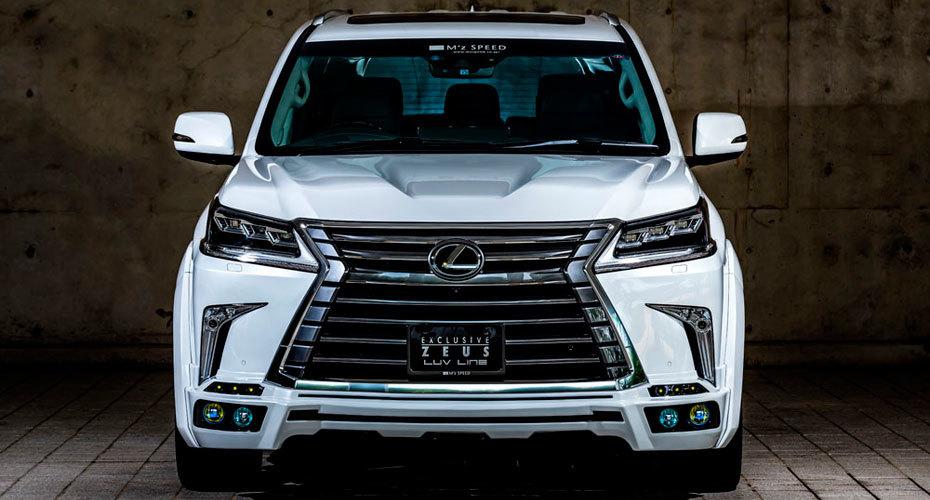 Обвес MzSpeed для Lexus LX450d/LX570 2016+