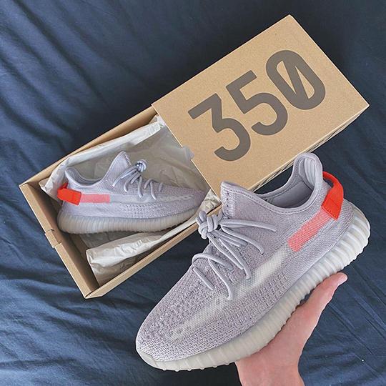 Adidas Yeezy Boost 350 V2 Grey/Orange/White Reflective