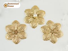 Филигрань Цветок золотой