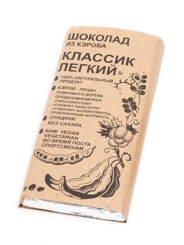 Шоколад из кэроба Классик Легкий 100г БК Урожай