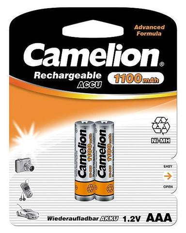 Аккумуляторы CAMELION R 03/2bl 1100 mAh Ni-MH
