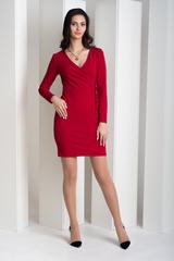 Івона. Елегантне плаття з запахом. Червоний