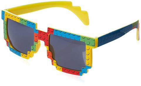 Brick-Theme Sunglasses for Lego-Loving Kids, Build in Style!