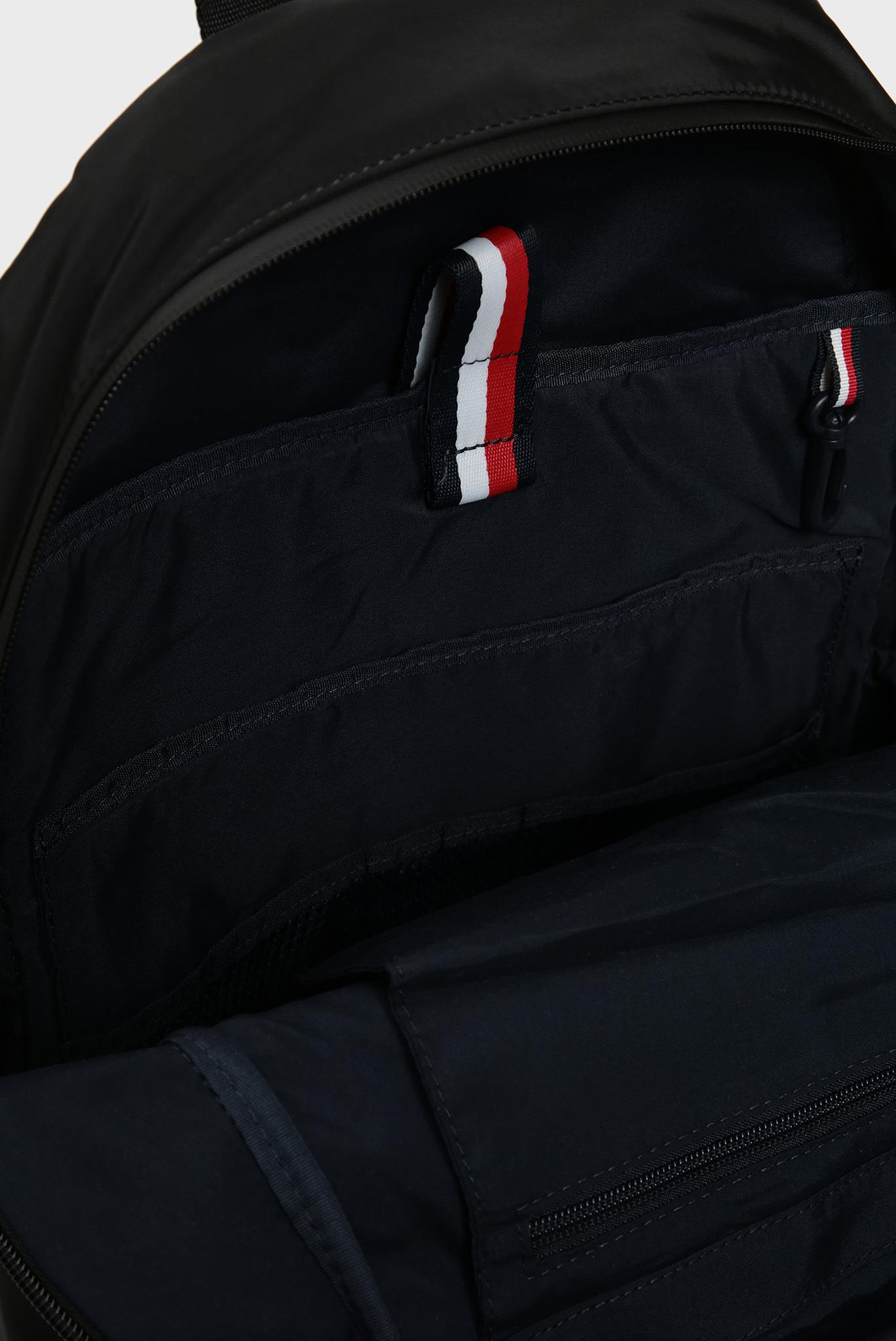 Мужской черный рюкзак Tommy Hilfiger