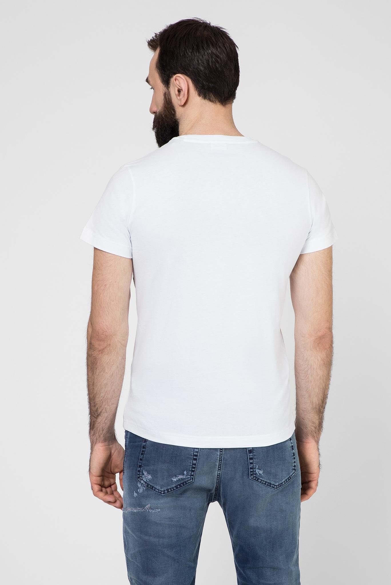 Мужская белая футболка T-DIEGO-S3 Diesel