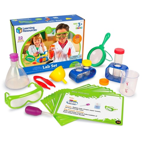 LSP2784-UK Набор Моя первая лаборатория Юный исследователь Learning Resources