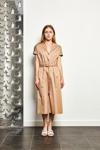 CAPPELLINI Платье-миди с поясом