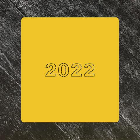 Трафарет Новый год 2022 №10