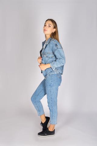 Классическая джинсовая куртка женская недорого