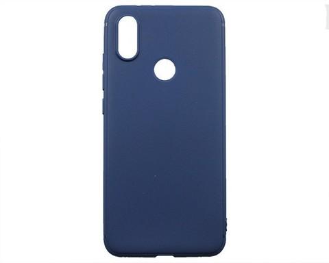 Чехол для Xiaomi Mi6X/Mi A2 силикон | синий