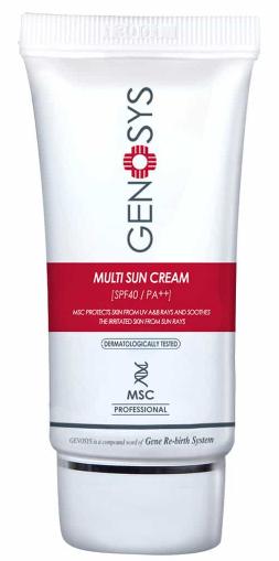 GENOSYS Multi Sun Cream солнцезащитный мультифункциональный крем SPF40+ PA++ 40мл