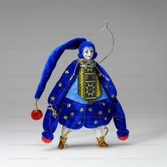 Ёлочная игрушка клоун Звездочет