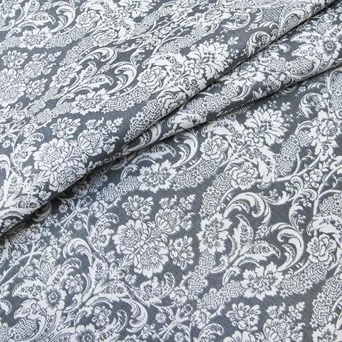 Бязь плательная 150 см 402/17 Дамаск цвет серый