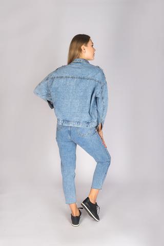 Классическая джинсовая куртка женская интернет магазин
