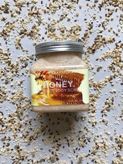 Распродано - Скраб для тела Wokali Honey Sherbet Body Scrub , 350 мл