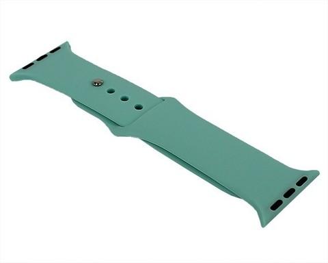 Ремешок для Apple Watch 38mm/40mm силиконовый | морская волна