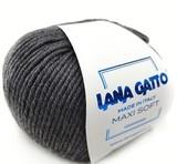 Пряжа Lana Gatto Maxi Soft 20206 темно-серый меланж